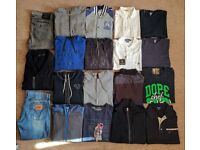 Genuine Large/XL Clothes Bundle - True Religion, Armani, Hugo Boss, Prada, Ralph Lauren, D&G