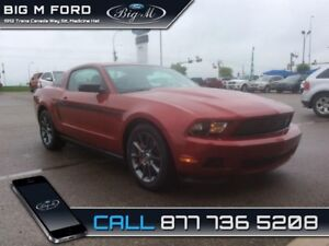 2012 Ford Mustang V6  - one owner - local - trade-in - non-smoke