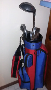 Kid's Golf Clubs and Bag