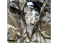 Brand new smock combat windproof desert jacket