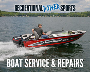 BOAT SERVICE & REPAIR– *COMPETETIVE PRICES, AMAZING SERVICE*