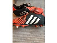 Adidas Predator Rugby Boots Size UK 8.5