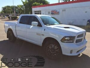 2015 Ram 1500 SPORT | 4X4 | 5.7L HEMI | BOX COVER | LEATHER