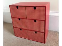 Mini chest of drawers £5