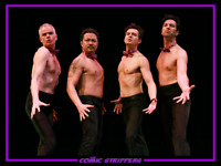 THE COMIC STRIPPERS - Improv Comedy Show on SALT SPRING!