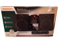 Logitech iPod & AUX IN Speaker Dock System MUST GO! £30! With Remote FM AM Radio Pure Fi Elite