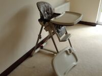 Mamas & Papas High Chair adjustable height