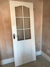 Half glazed door - reduced price