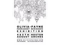 Olivia-Fayne 'Permanent Reminders' Exhibition