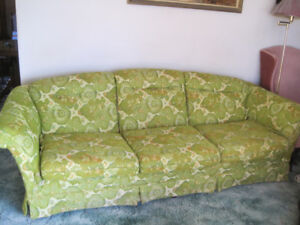 Couch with Floral Pattern- very good condition