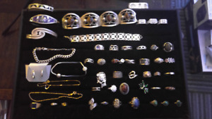 Gold and silver jewellery reduced prices