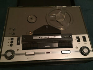 Vintage Reel to Reel player/recorder and projector $50-$150