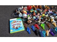 44 Skylanders and 16 traps for xbox 360 plus 2 games