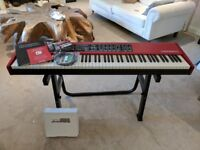 Nord Piano 2 Digital Stage Piano + Nord Case + 3 Pedal set + Stand - Pristine Condition!
