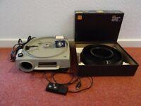 Kodak Ektagraphic slide projector and accessories