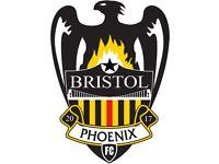Bristol Phoenix Want Player for Men's Football Team