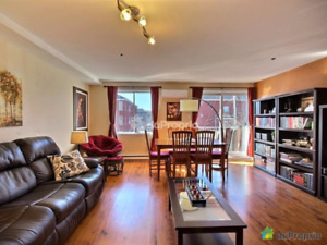 Amazing 4 1/2 open concept condo in the West Island