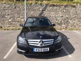 Mercedes-benz c class 1.6 c180 AMG Sport saloon 4 dr petrol 7G-Tornic plus 156 BHP
