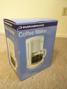 Brand new DuraBrand Coffee maker