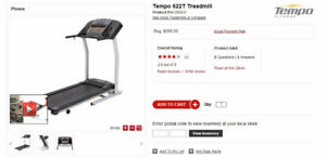 $999 Tempo 622T treadmill for sale!