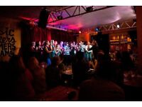 Bass and baritone vocalists wanted for S.London group