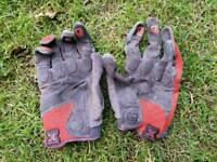 Fox downhill mountain biking gloves