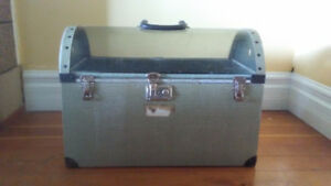 Vintage Cat/Dog Carrier with Air Canada Sticker