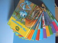SET OF 12 BUGS LIFE BOOKS
