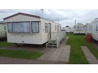Caravan to rent Ingoldmells/Skegness 2017 bargains 3 bedroom great location clean and comfortable