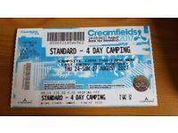 Creamfields 2017 Ticket