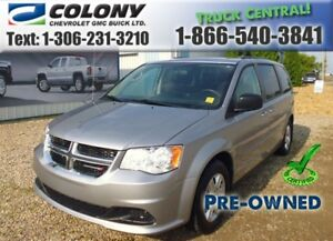 2013 Dodge Grand Caravan SE, Rear Vision Camera, Bluetooth, PST