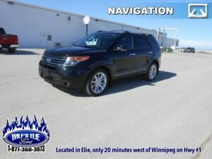 2013 Ford Explorer Limited    - 6 Passenger - Navigation - Leath