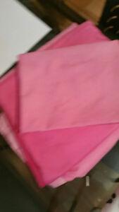 draps pour lit simple