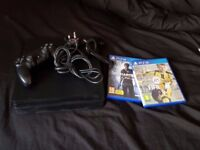 PS4 Slim with Fifa 17 & Uncharted 4