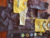 Brownies Uniform Bundle age 8-10