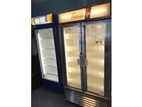 Two commercial fridges for sale £800