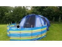 Vango Icarus 600 tent in blue