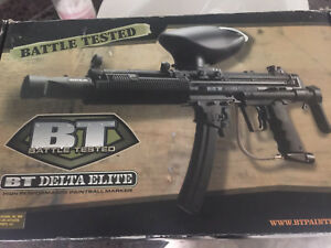 BT Delta Elite Paintball Marker