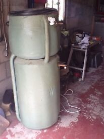 Combination Hot Water & Central Heating Tank
