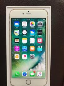 iPhone 6 Plus 64 GB In excellent condition Available in Gold Colour colour