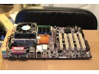 Socket 478 Motherboard CPU and RAM