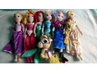 Disney princess plush bundle