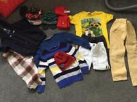 Boys 4-5 clothes bundle-trousers, smart shorts, smart jumpers