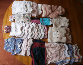 Baby Girl bundle clothes - 0-3 months