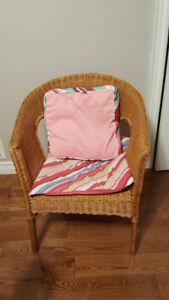 A bamboo chair for sale