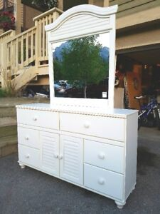 Dresser with Mirror and a matching Desk