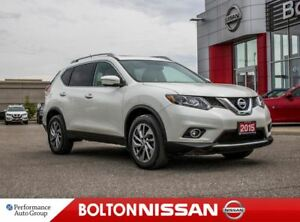 2015 Nissan Rogue SL|NAVI|Leather|Panoroof|Bluetooth