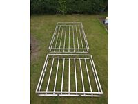 Custom aluminum box section roof cages / roofrack suitable for Van, large car or 4WD expedition