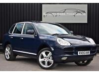 Porsche Cayenne S 4.5 V8 Tiptronic S * Deep Sea Blue + Sunroof + BOSE + Air Susp