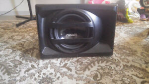 "Fusion 12"" SubWoofer; Built in amp"